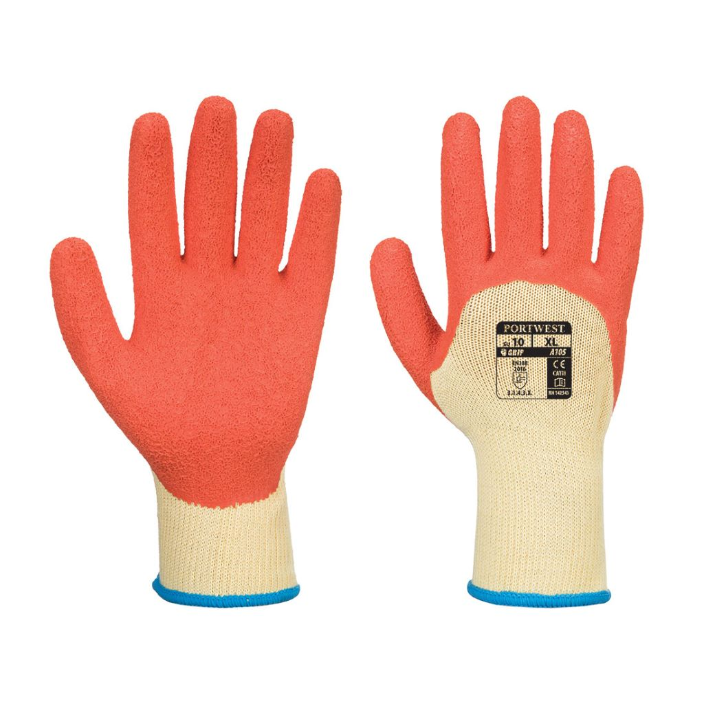 Grip Xtra Glove A105 YellowOrange