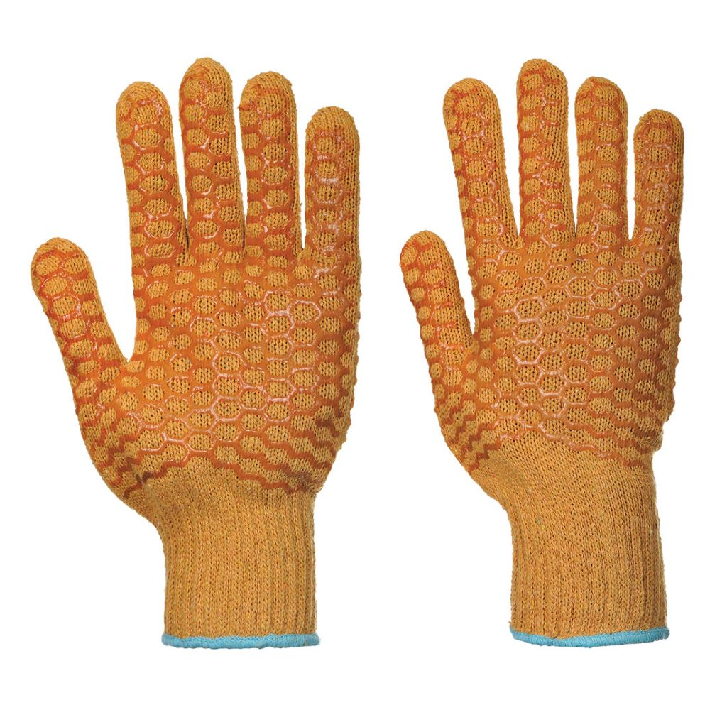 Criss Cross Glove A130 Orange