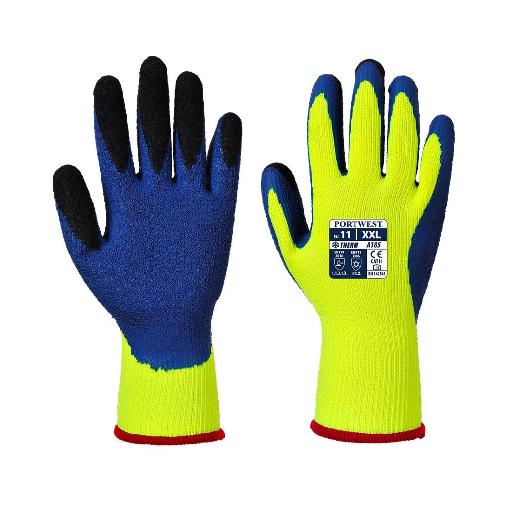 Duo-Therm Glove A185 YellowBlue