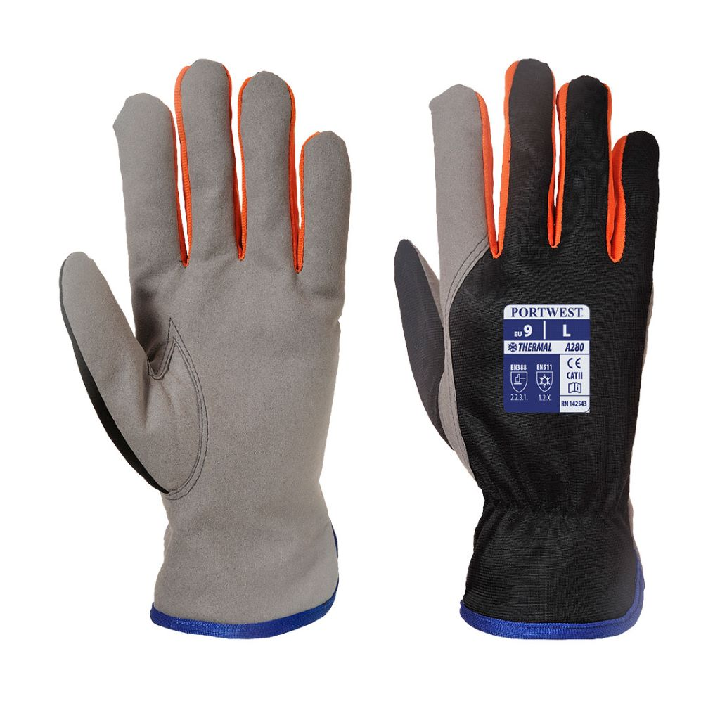 Wintershield Glove A280 BlackOrange