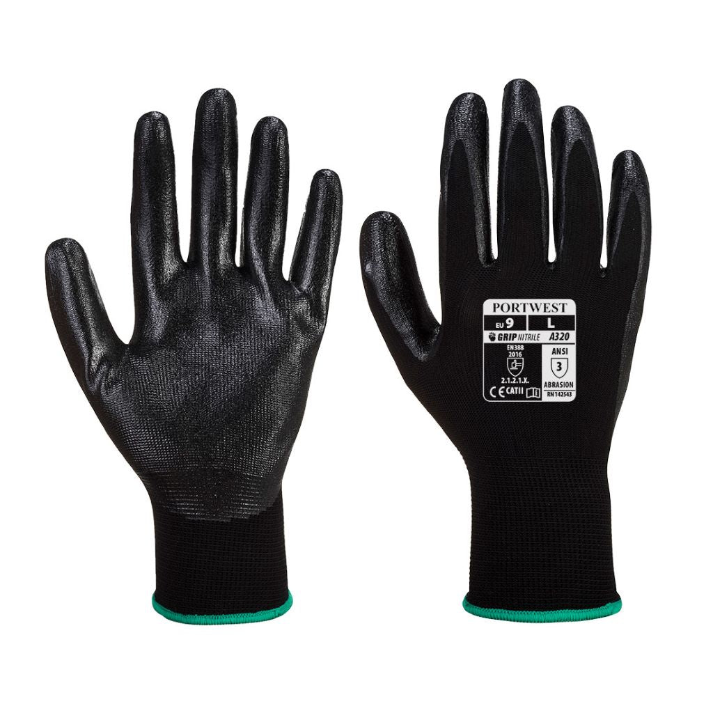 Dexti-Grip Glove A320 Black