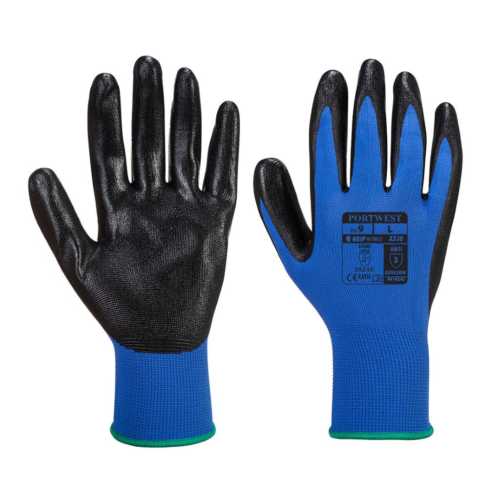 Dexti-Grip Glove A320 Blue