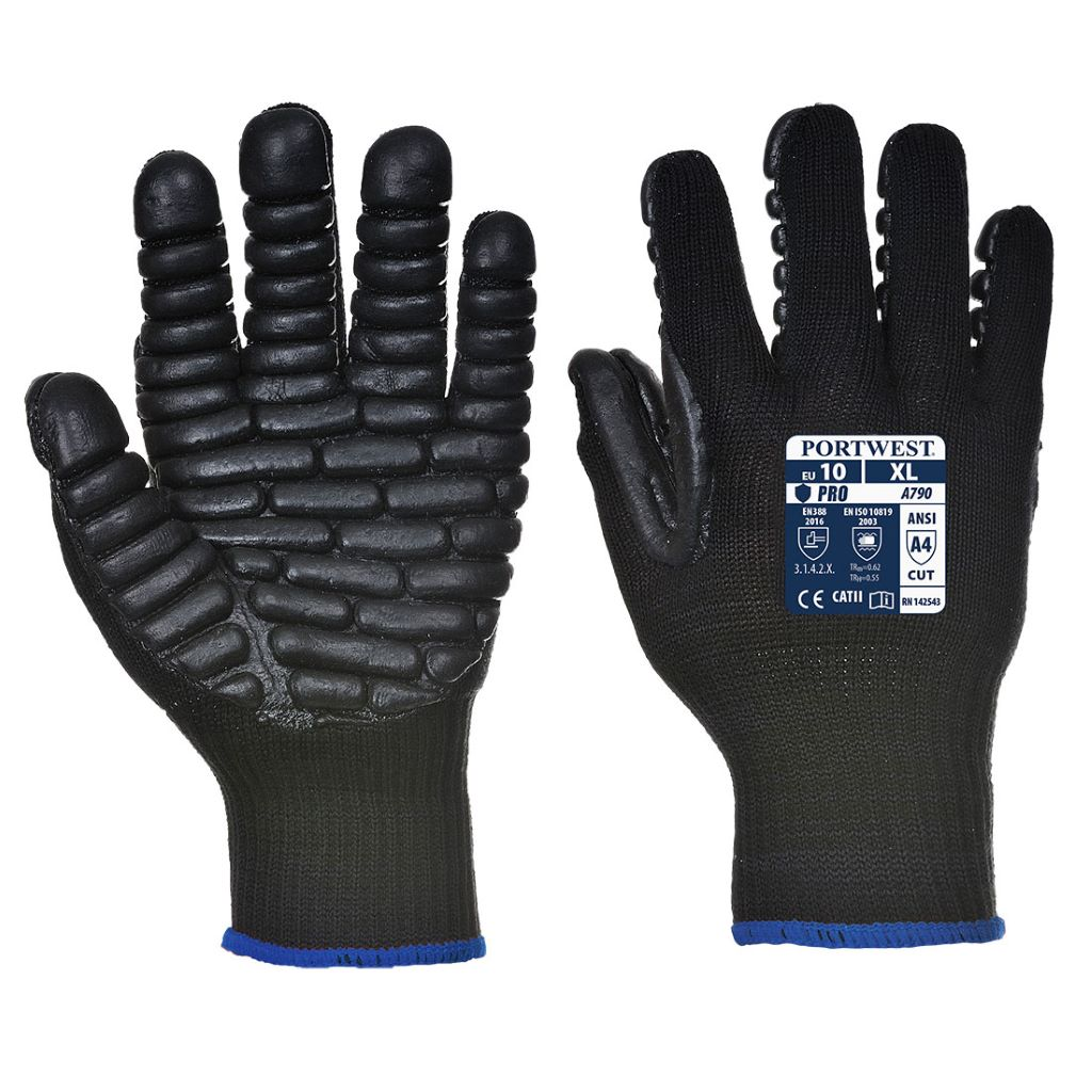 Anti-Vibration Glove A790 Black