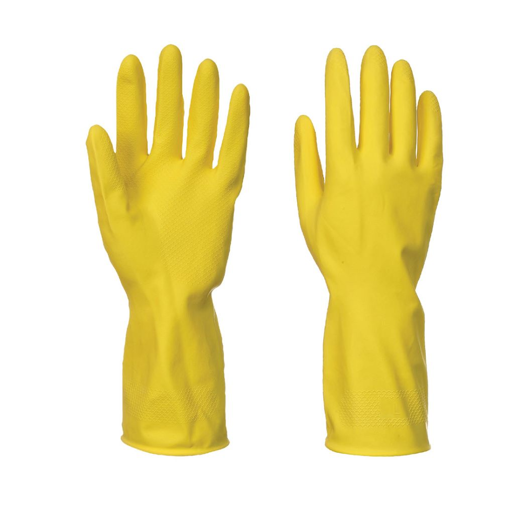 Household Glove (240 pairs) A800 Yellow