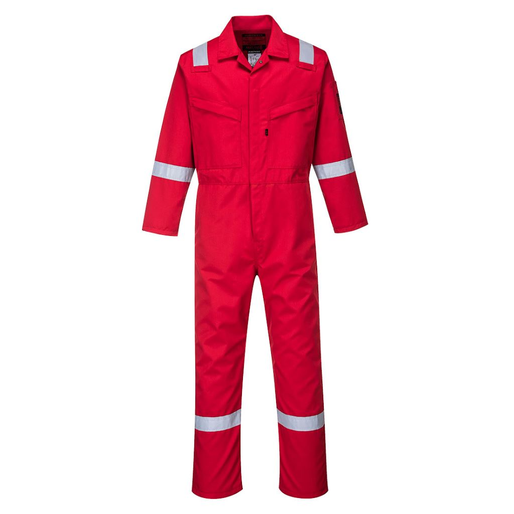 Araflame Coverall 260g AF50 Red