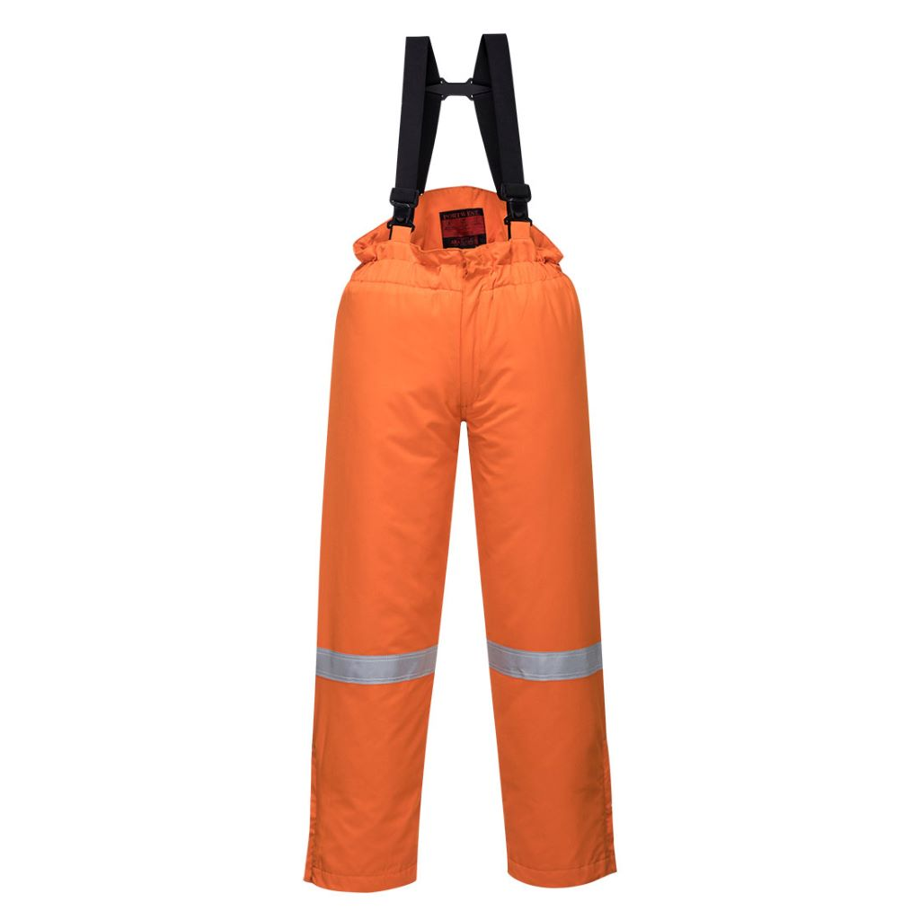 Araflame Insulated Salopettes AF83 Orange