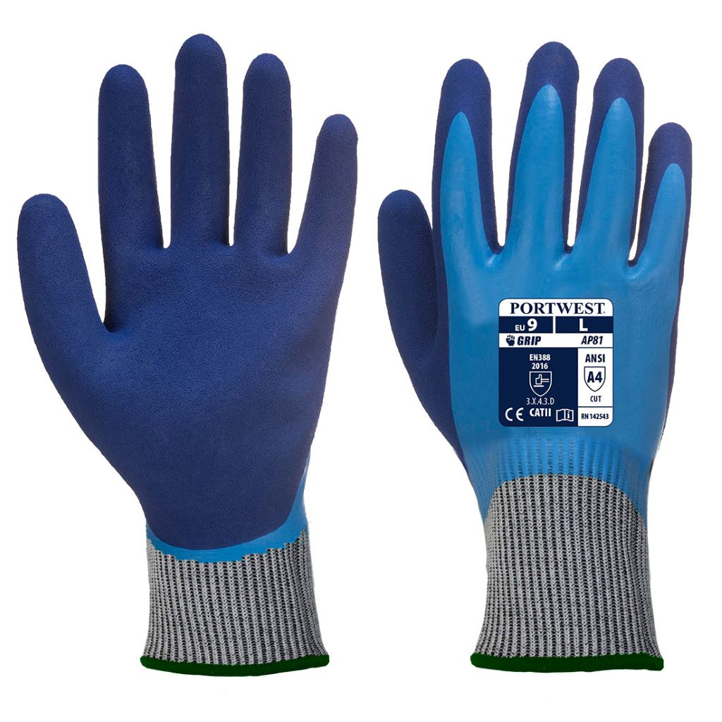 Liquid Pro HR Cut Glove AP81 BlueBlue