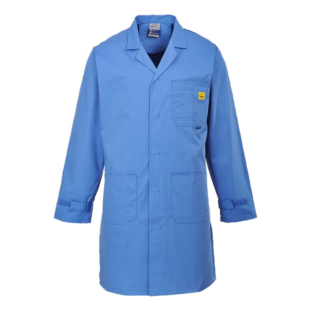 Anti Static Coat AS10 HospitalBlue