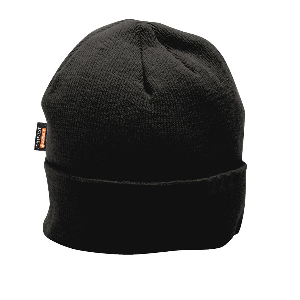Insulatex Knit Cap B013 Black
