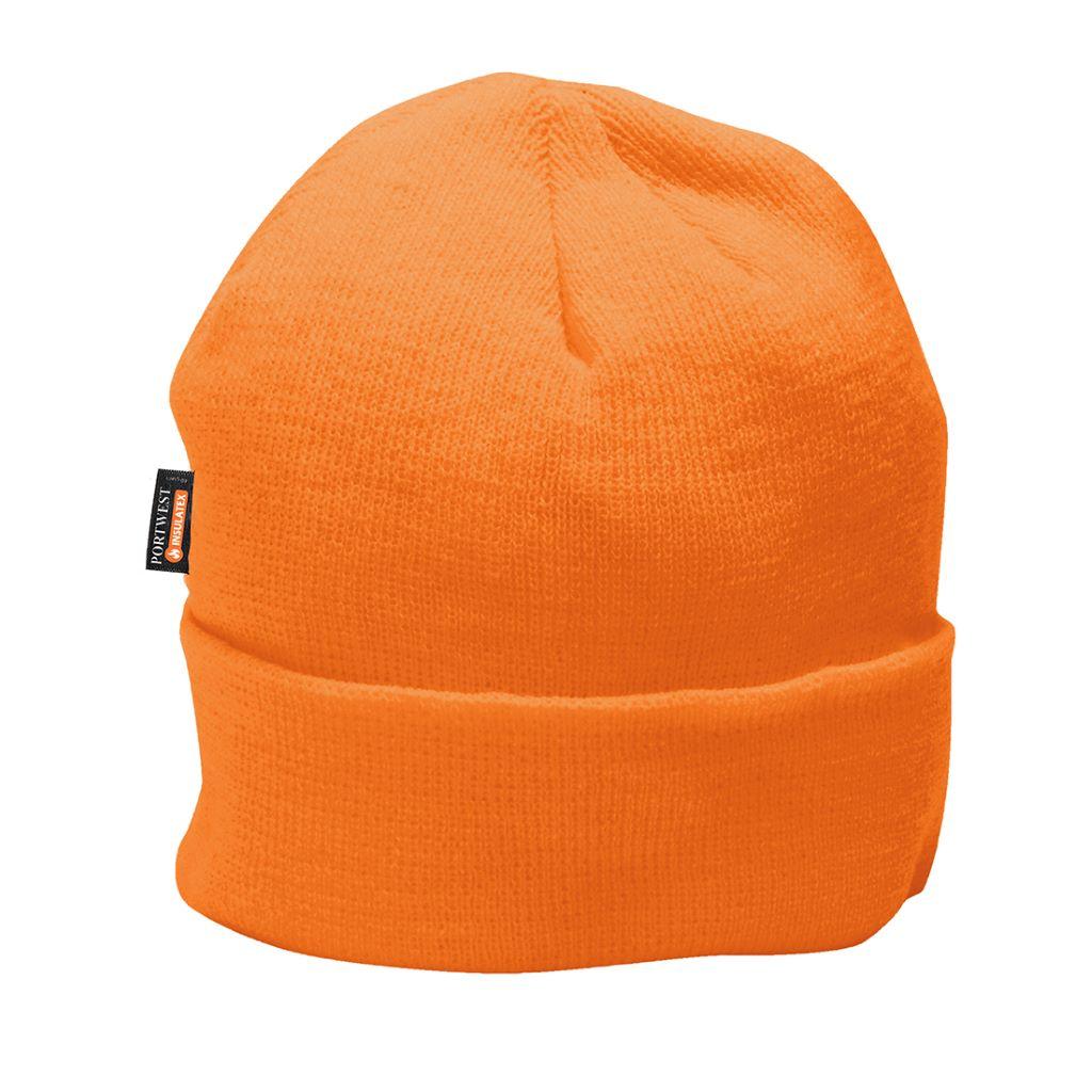 Hi-Vis Insulatex Knit Cap B013 Orange