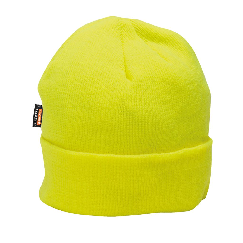 Hi-Vis Insulatex Knit Cap B013 Yellow