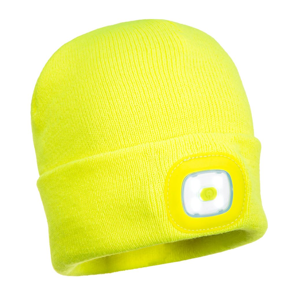 Junior Beanie LED Headlight B027 Yellow