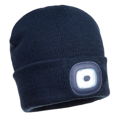 Rechargeable LED Beanie B029 Navy
