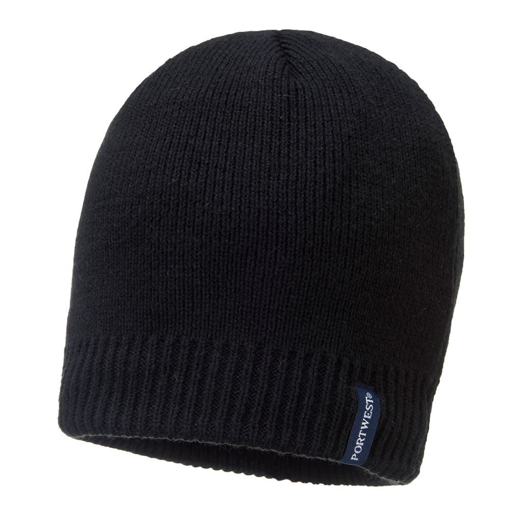Waterproof Beanie B031 Black