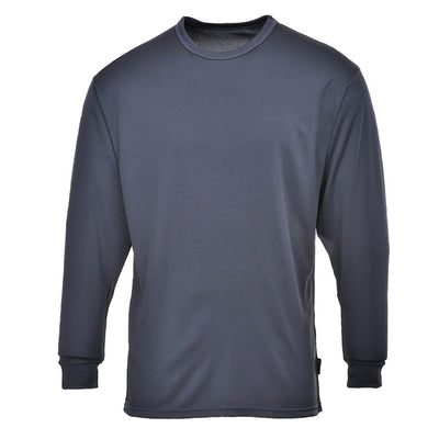 Base Layer Thermal Top L/S B133 Charcoal