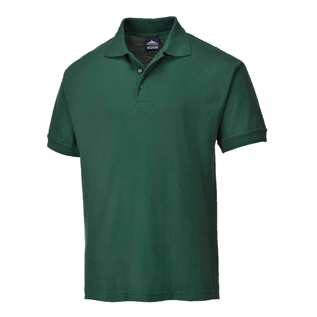 Naples Polo Shirt B210 BottleGreen