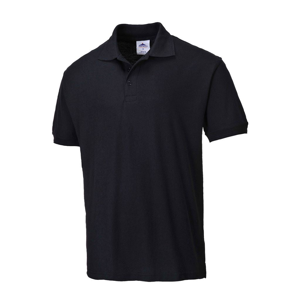 Naples Polo Shirt B210 Black