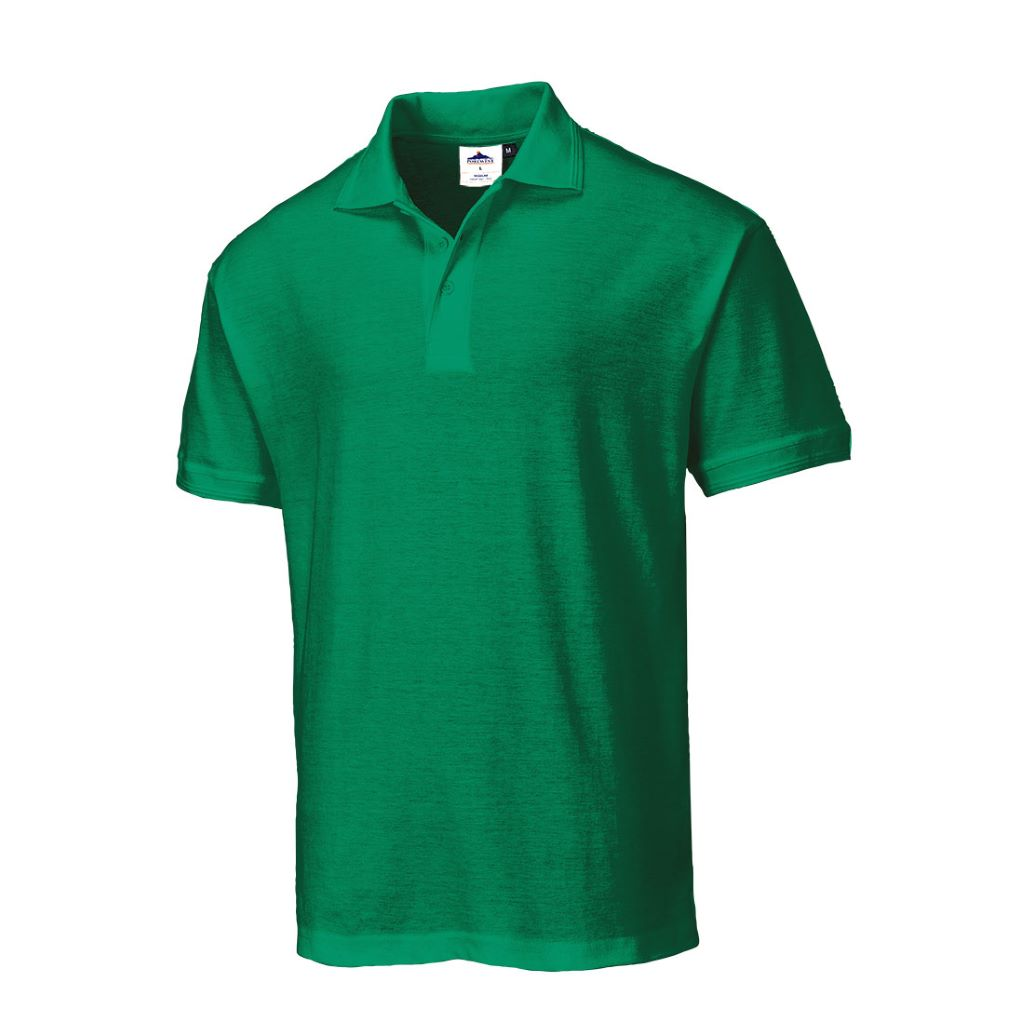 Naples Polo Shirt B210 KellyGreen