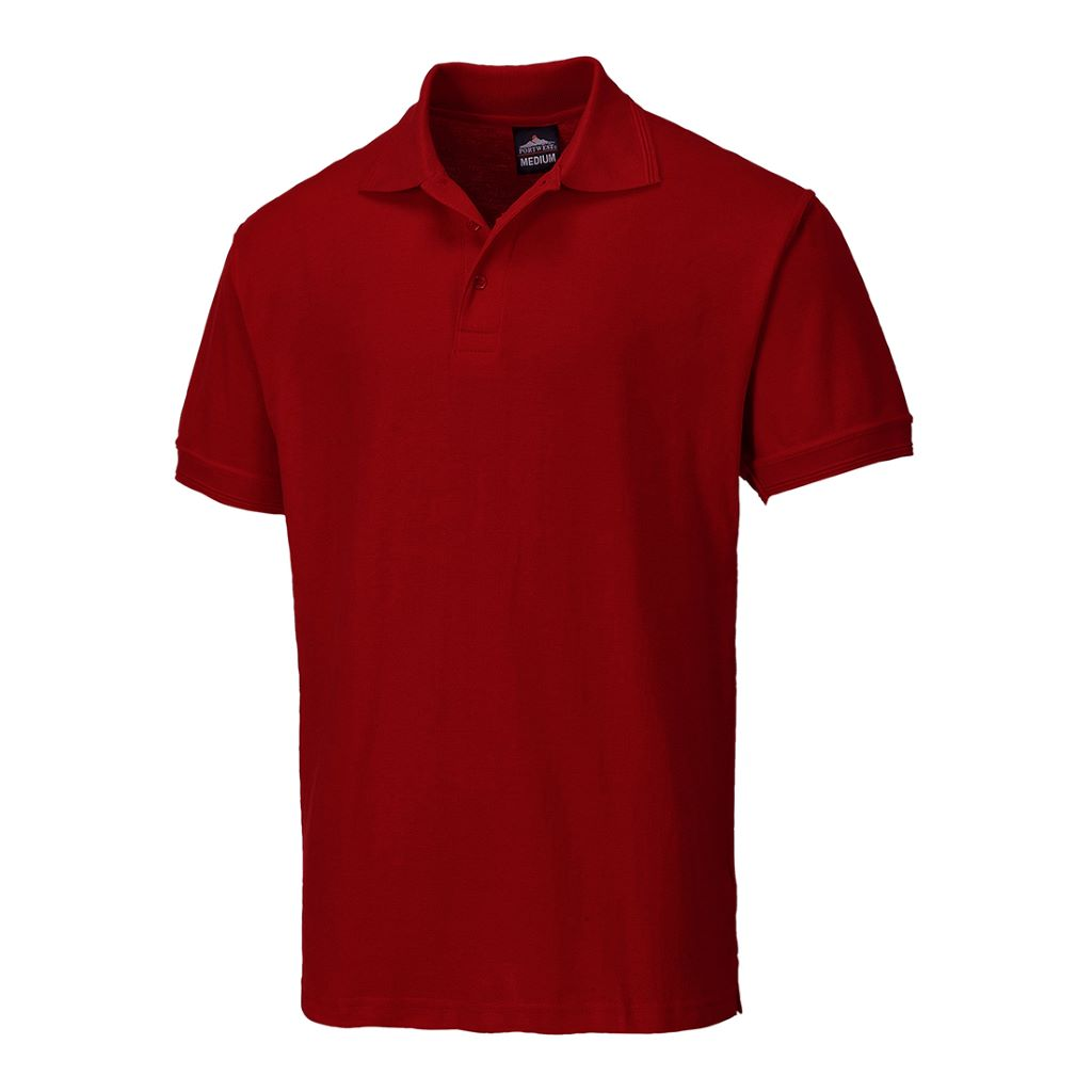 Naples Polo Shirt B210 Maroon