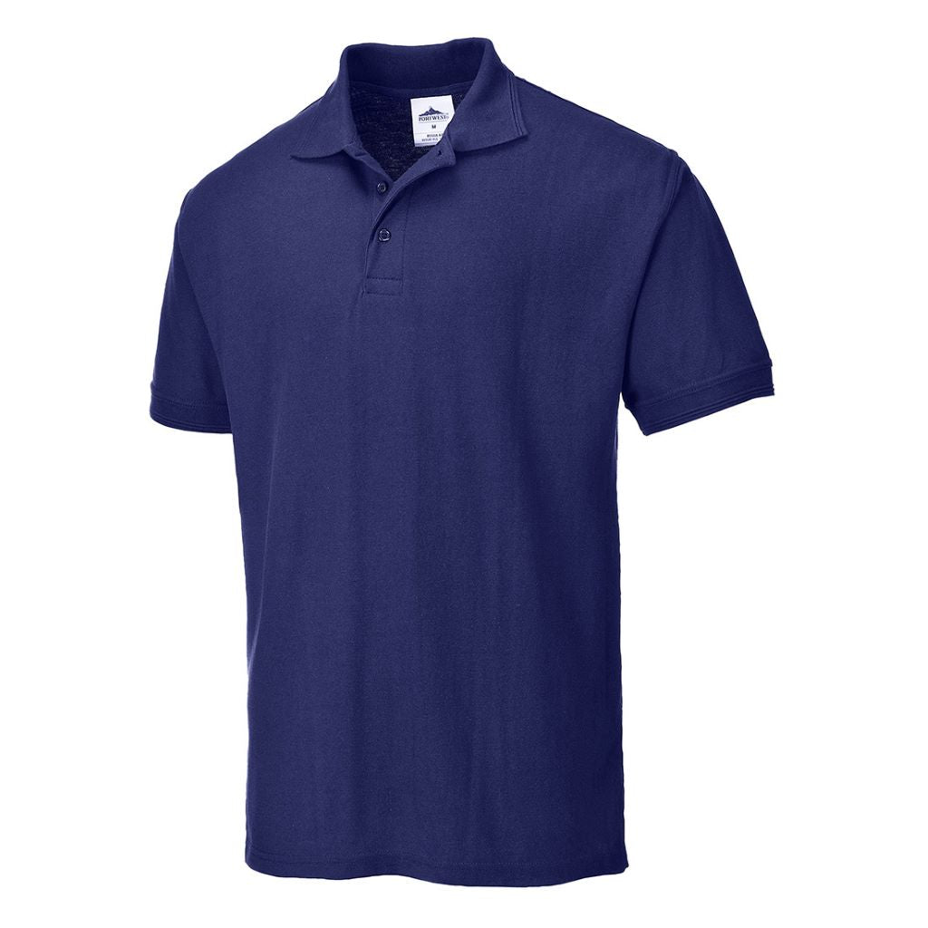 Naples Polo Shirt B210 Navy