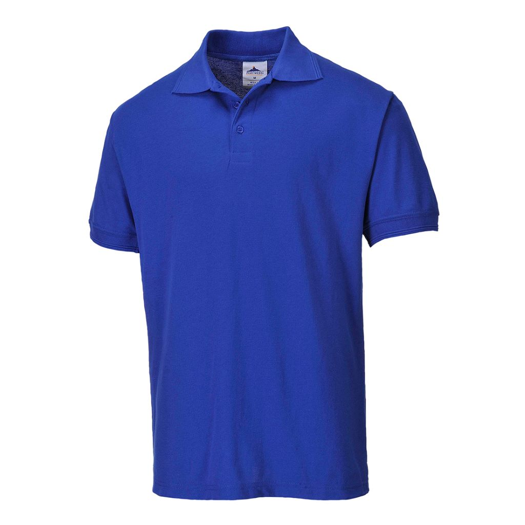 Naples Polo Shirt B210 Royal