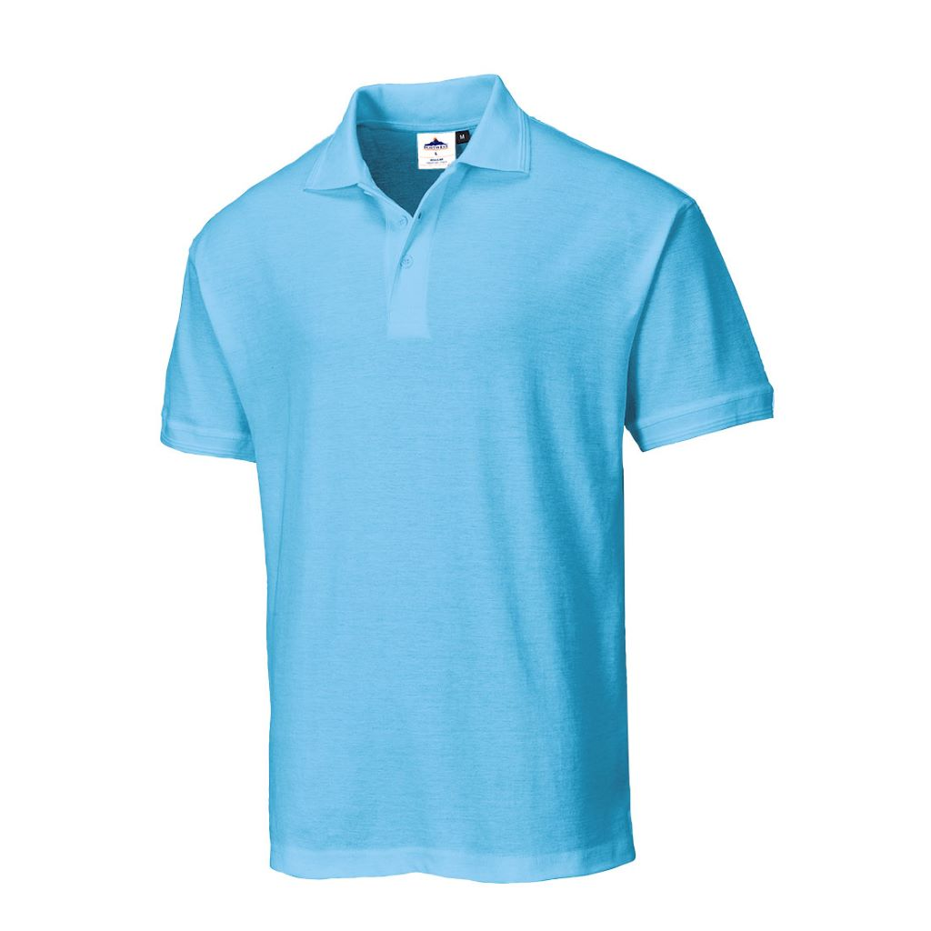 Naples Polo Shirt B210 Sky