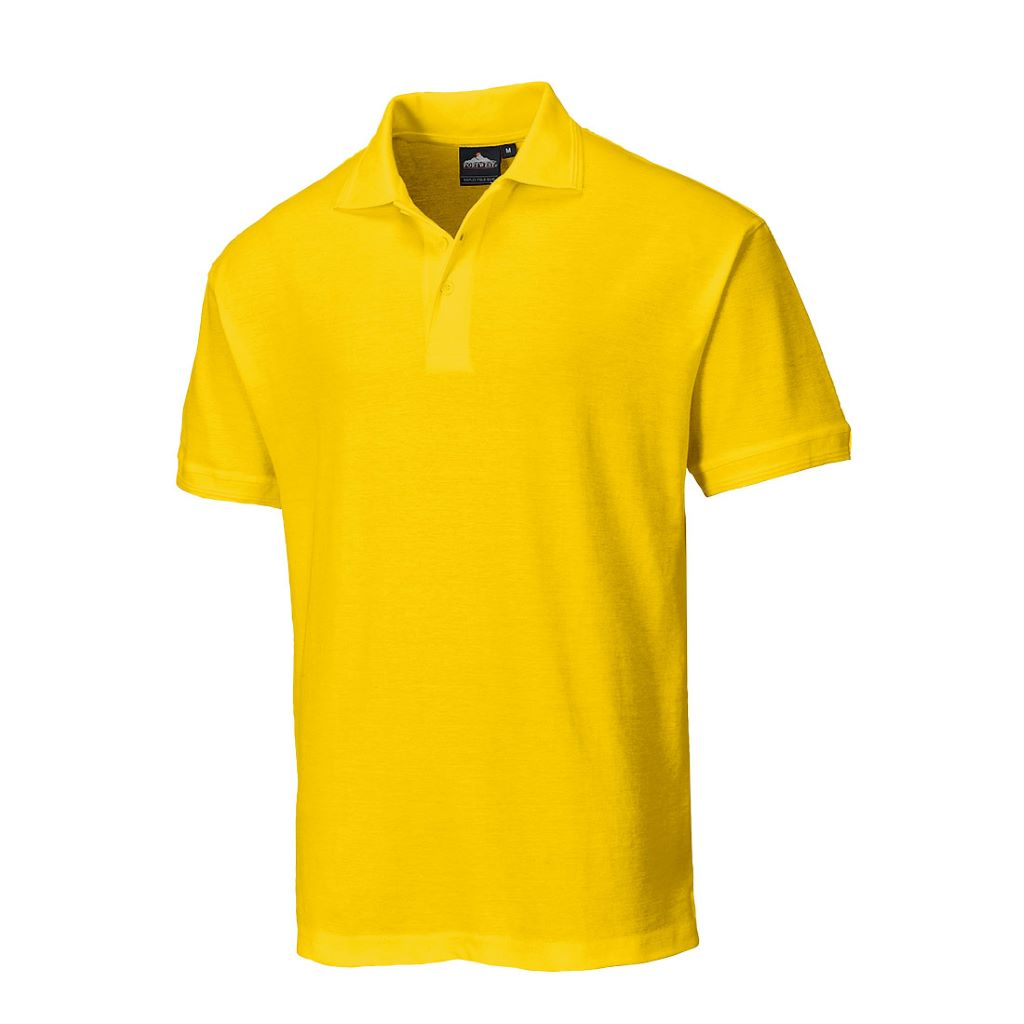Naples Polo Shirt B210 Yellow