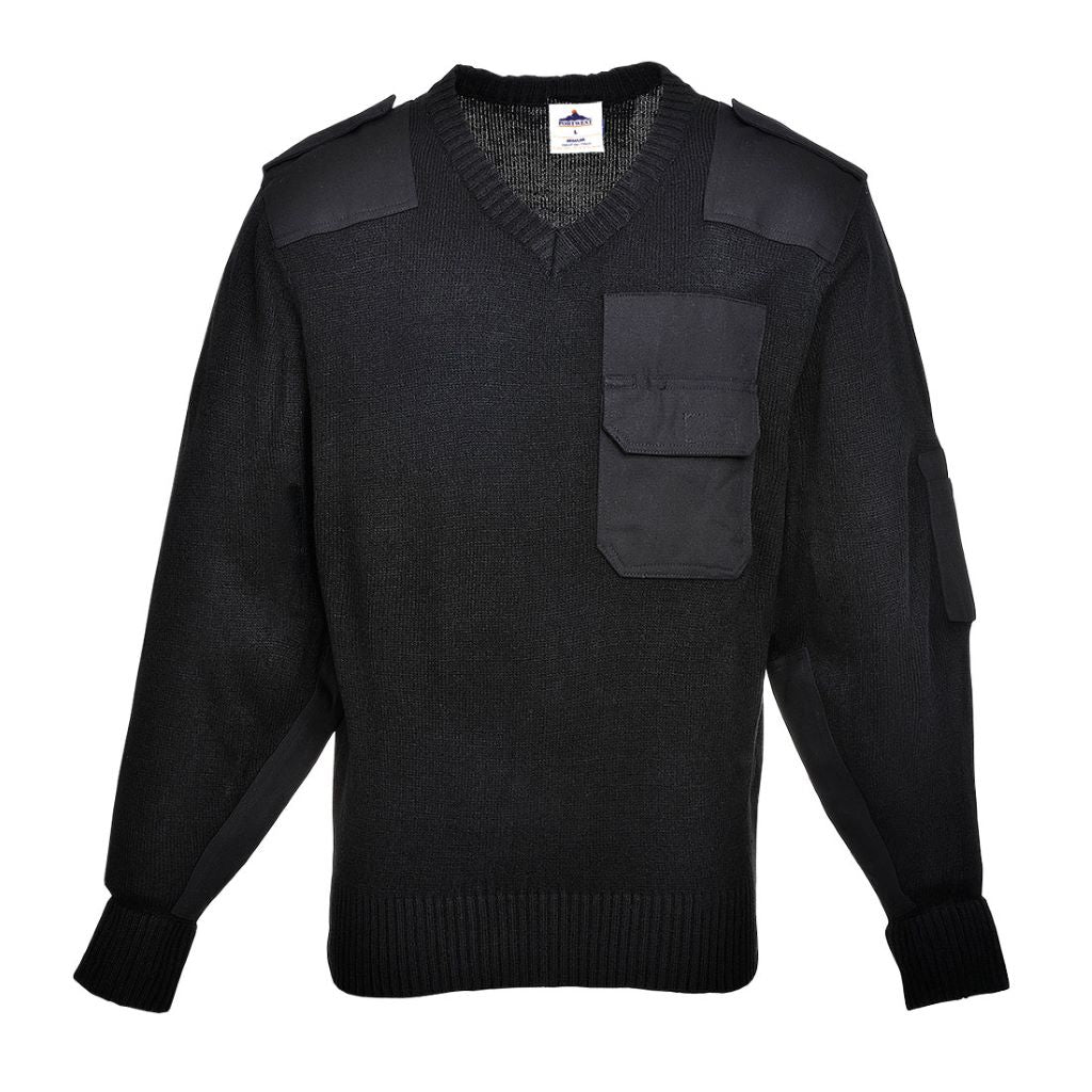 NATO Sweater B310 Black