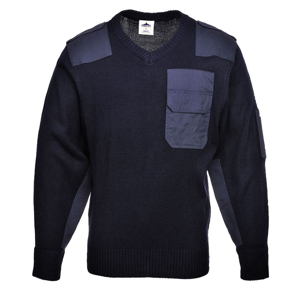 NATO Sweater B310 Navy