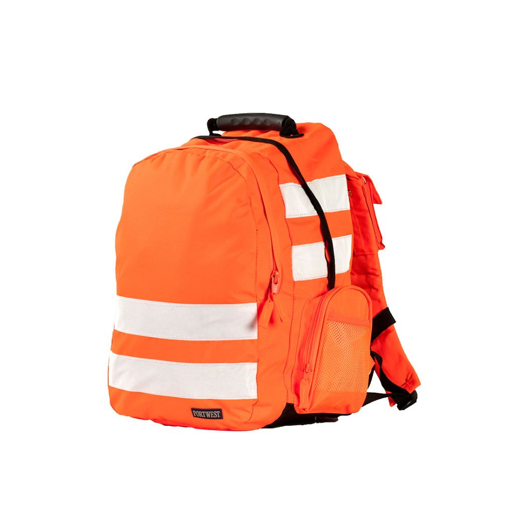 Hi-Vis Rucksack  (25L) B905 Orange