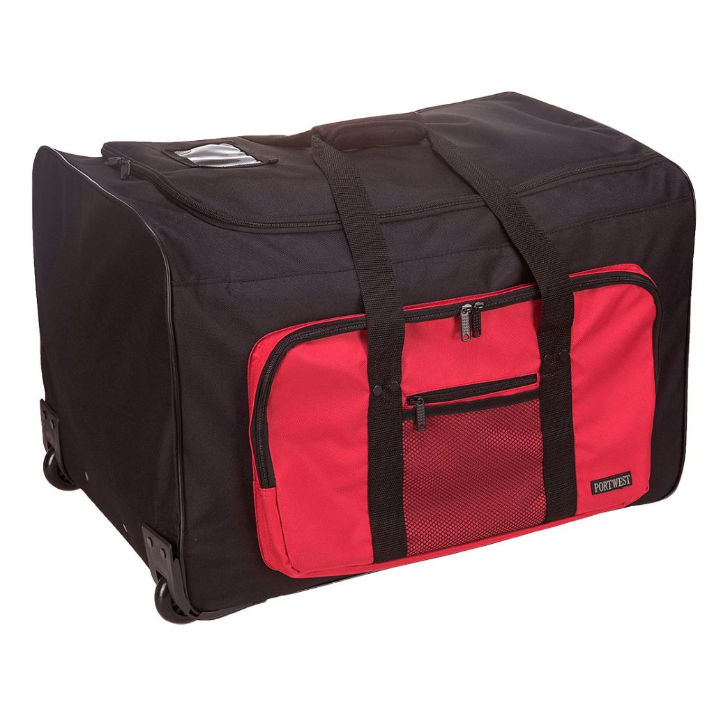 Multi-Pocket Trolley Bag  100L B907 Black
