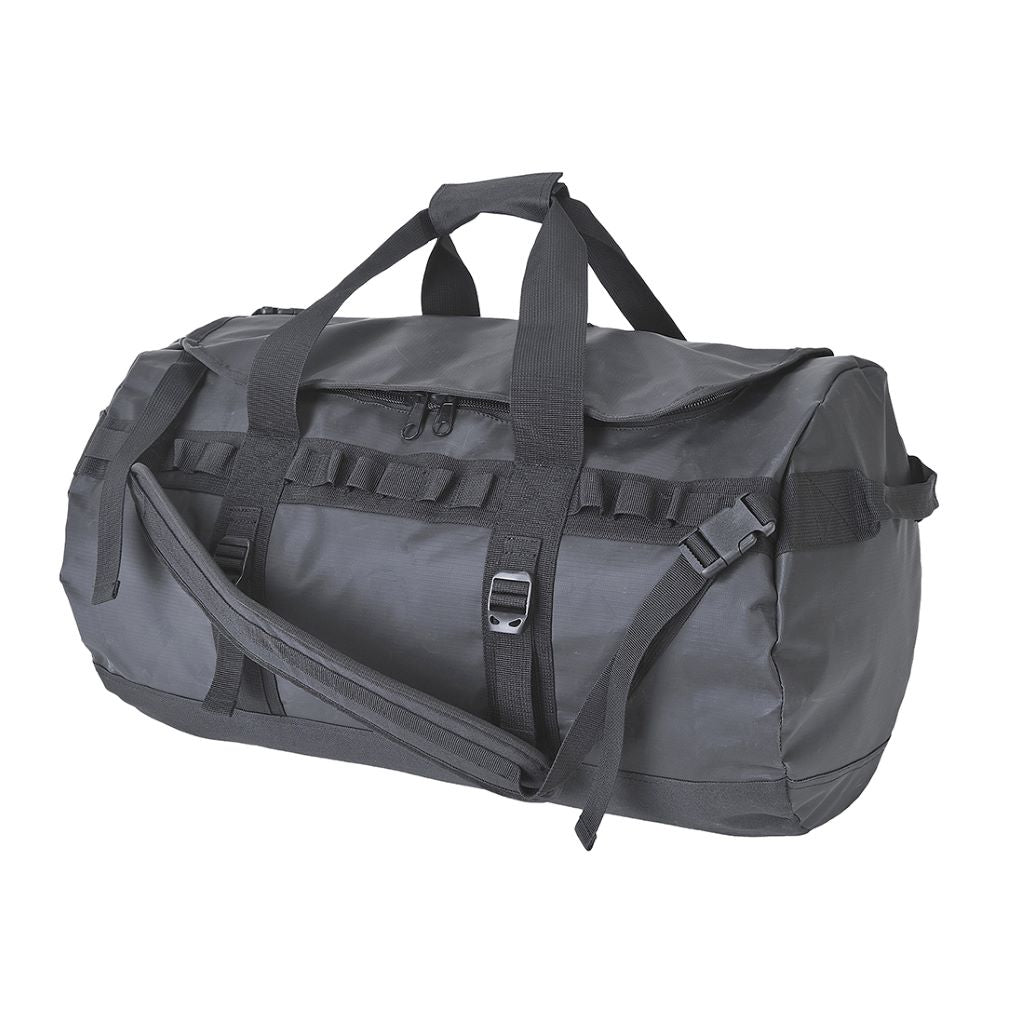 Waterproof PVC Holdall B910 Black