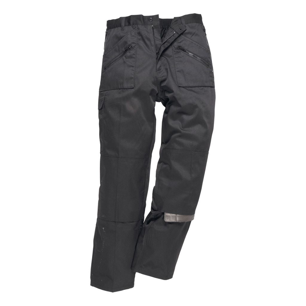 Lined Action Trousers C387 Black