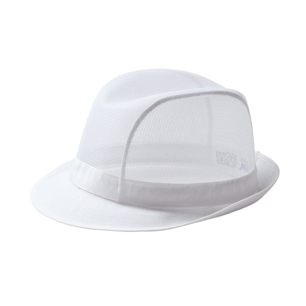 Trilby Hat C600 White