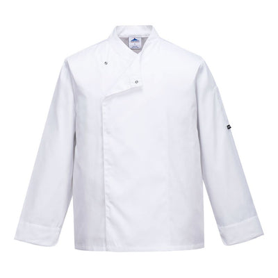 Cross Over Chef Jacket C730 White