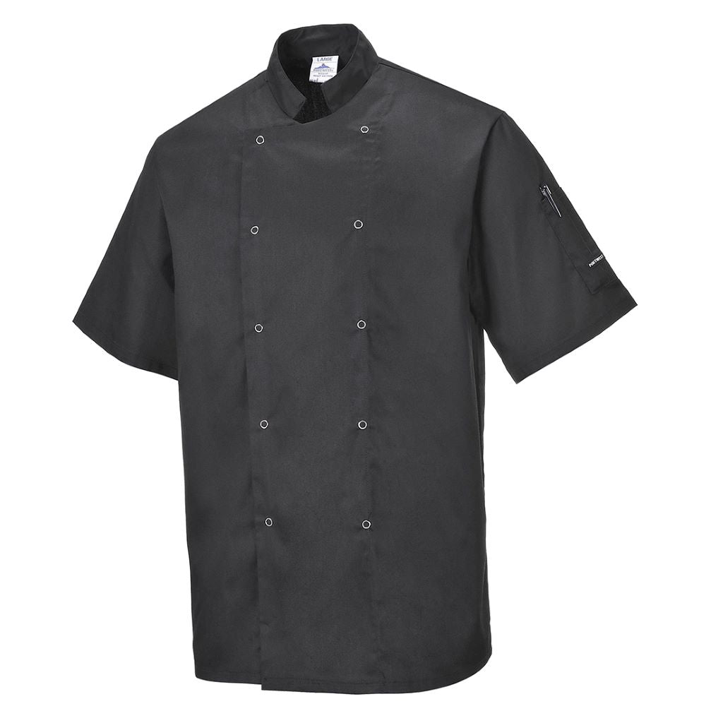 Cumbria Chefs Jacket C733 Black