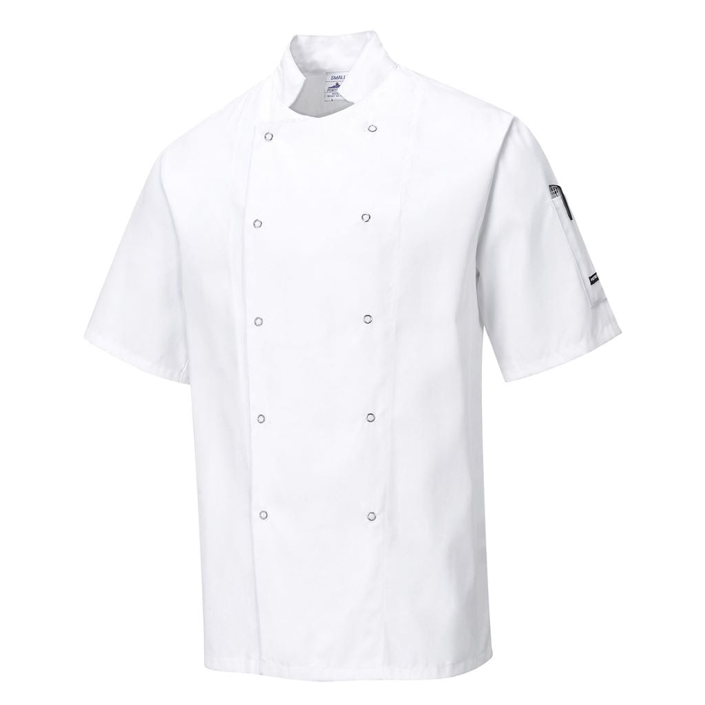 Cumbria Chefs Jacket C733 White