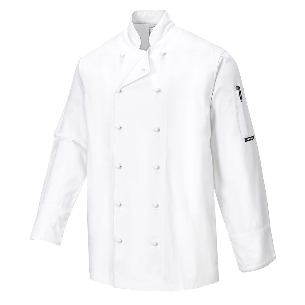 Norwich Chef Jacket C771 White