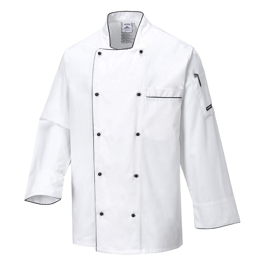 Executive Chef Jacket C776 White
