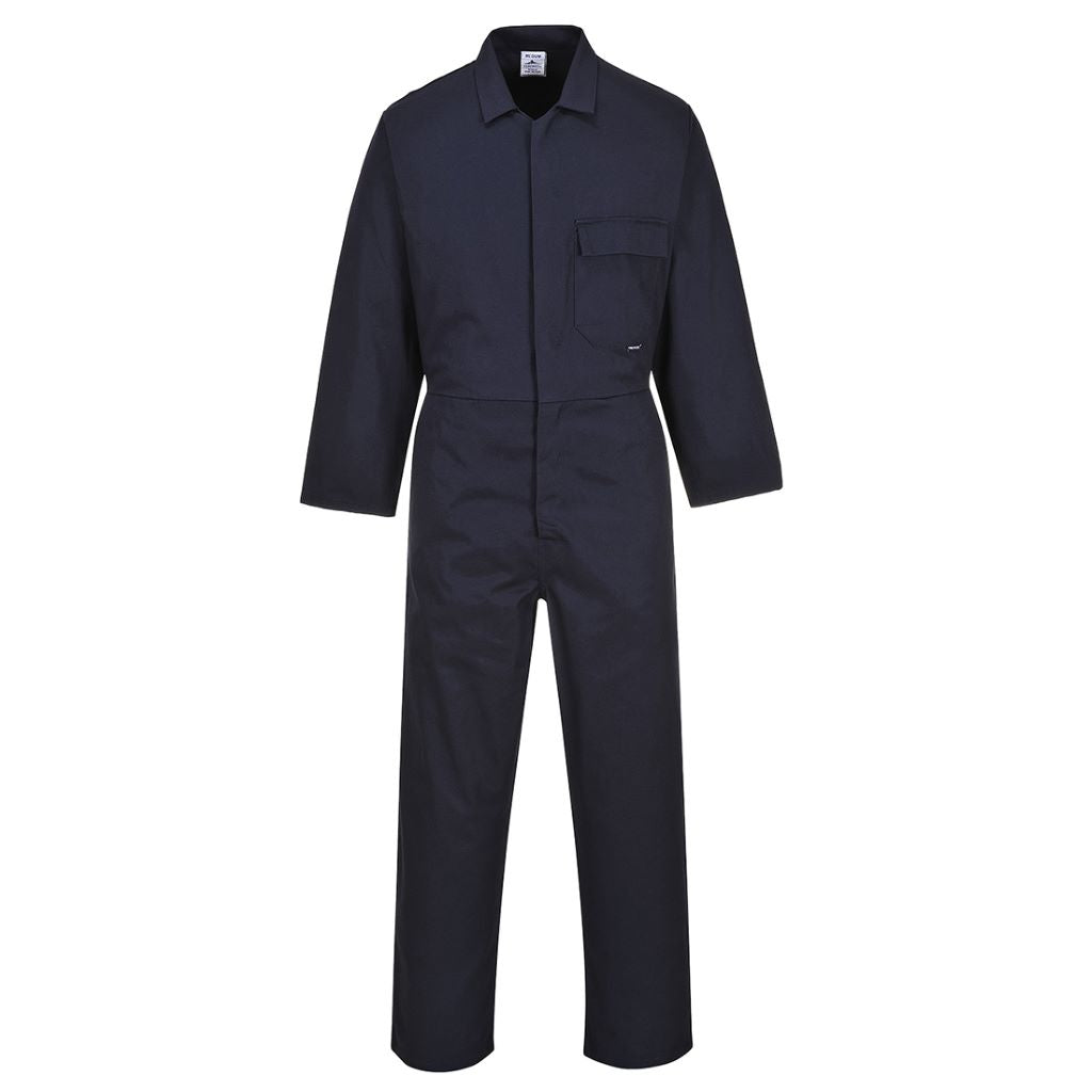 Cotton Boilersuit C806 Navy