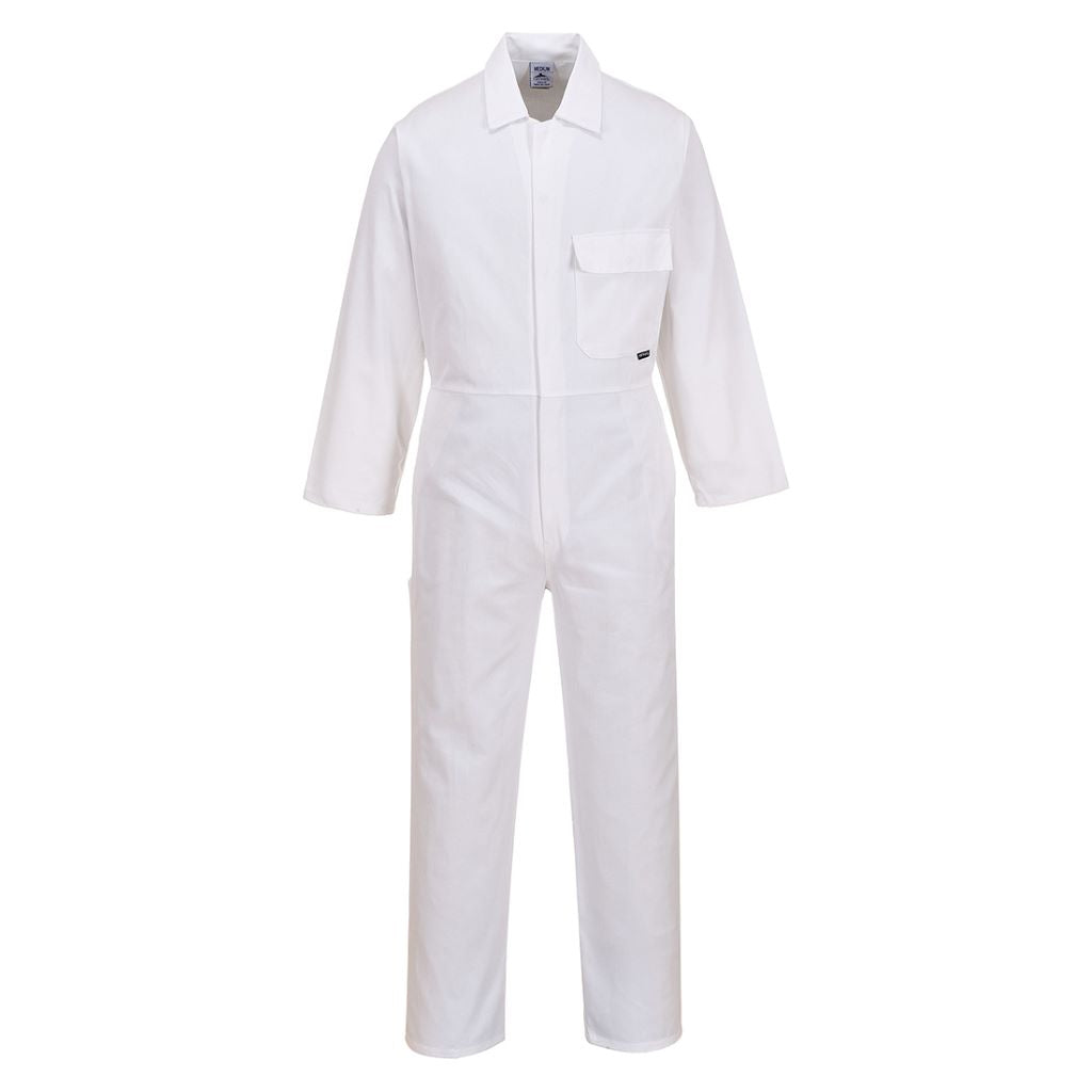 Cotton Boilersuit C806 White