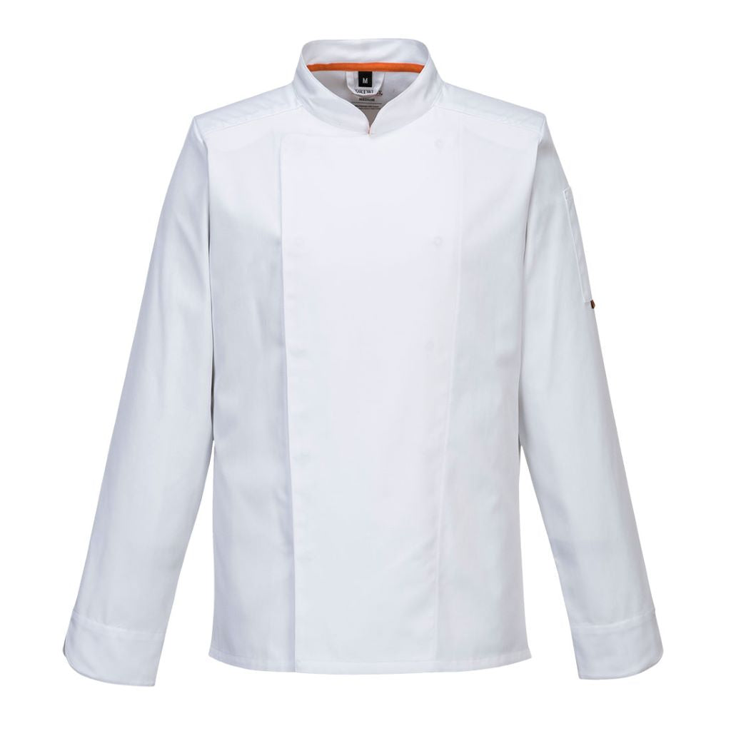 MeshAir Pro Jacket  L/S C838 White