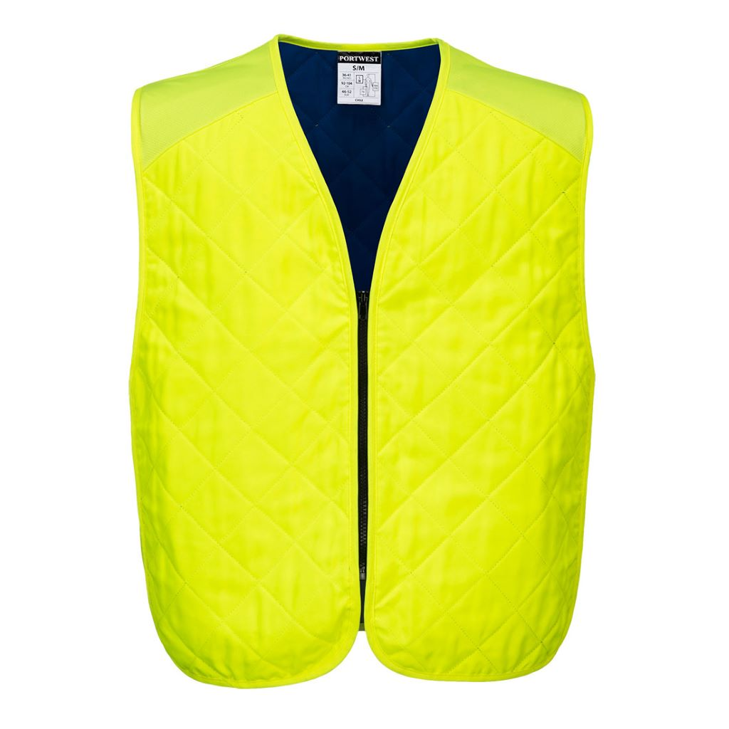 Cooling Evaporative Vest CV09 Yellow