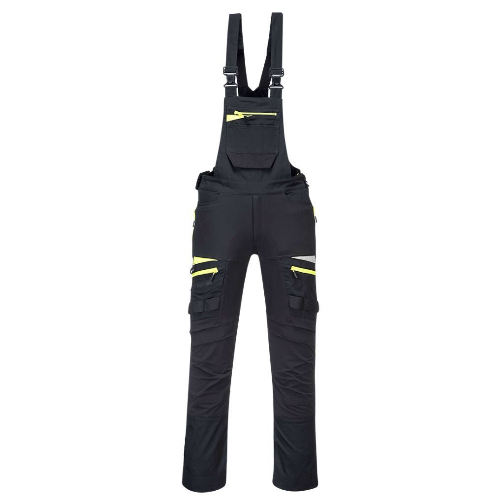 DX4 Work Bib DX441 Black