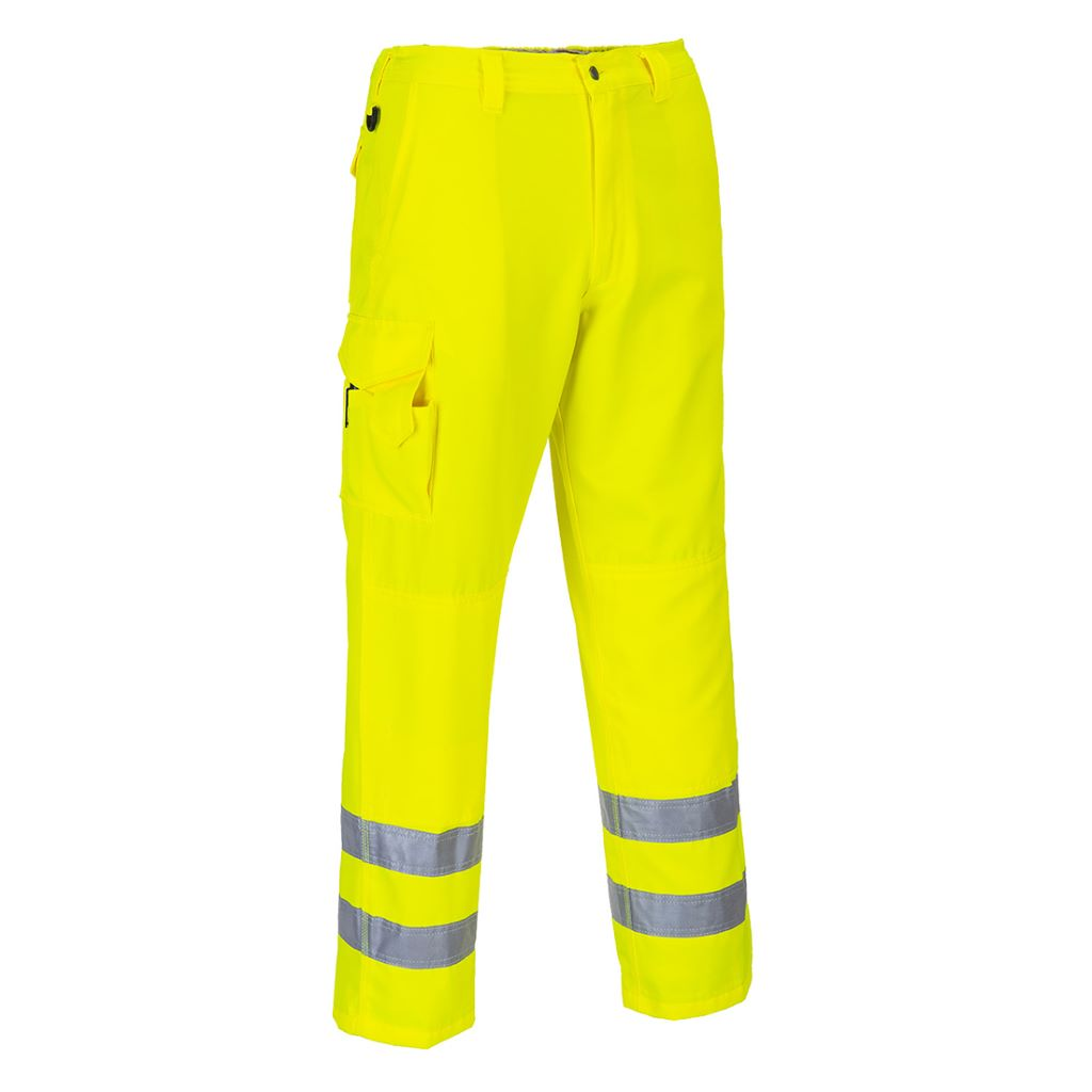 Hi-Vis Combat Trousers E046 Yellow