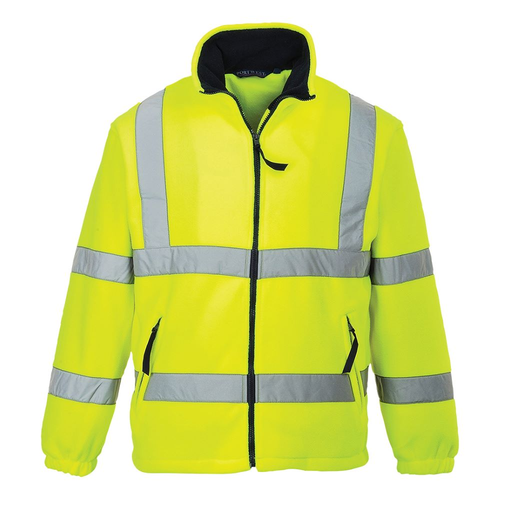 Hi-Vis Mesh Lined Fleece F300 Yellow