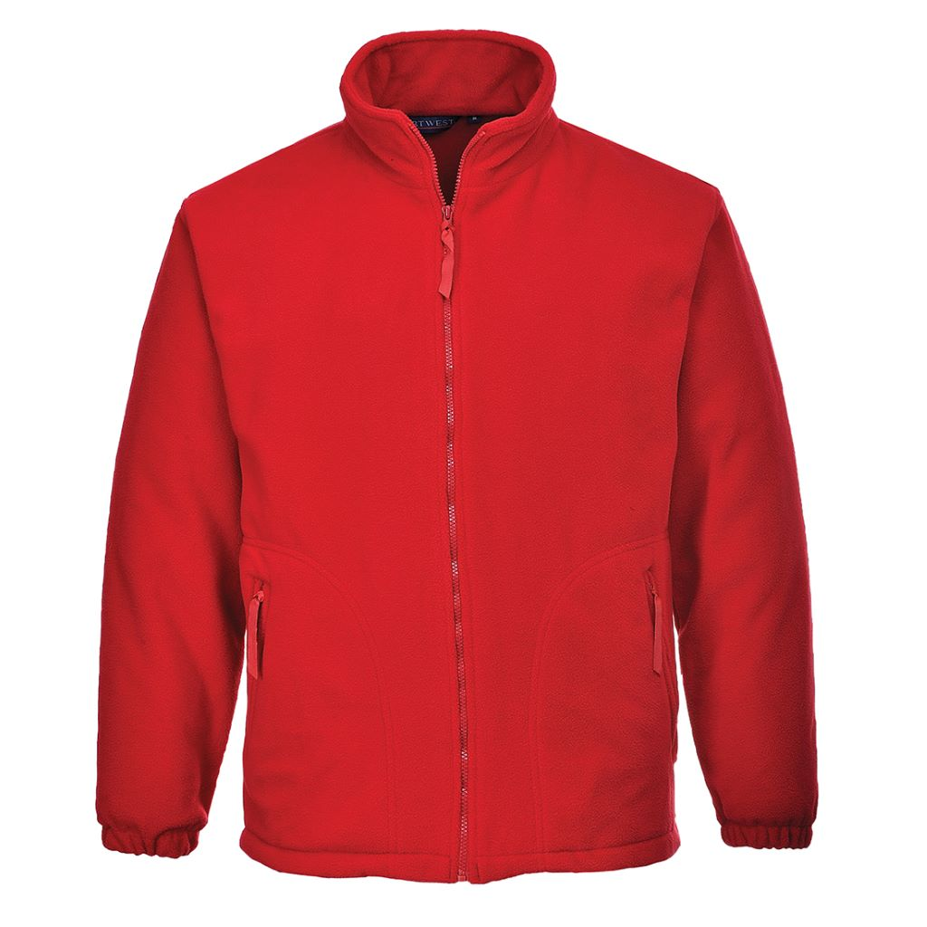 Argyll Heavy Fleece F400 Red