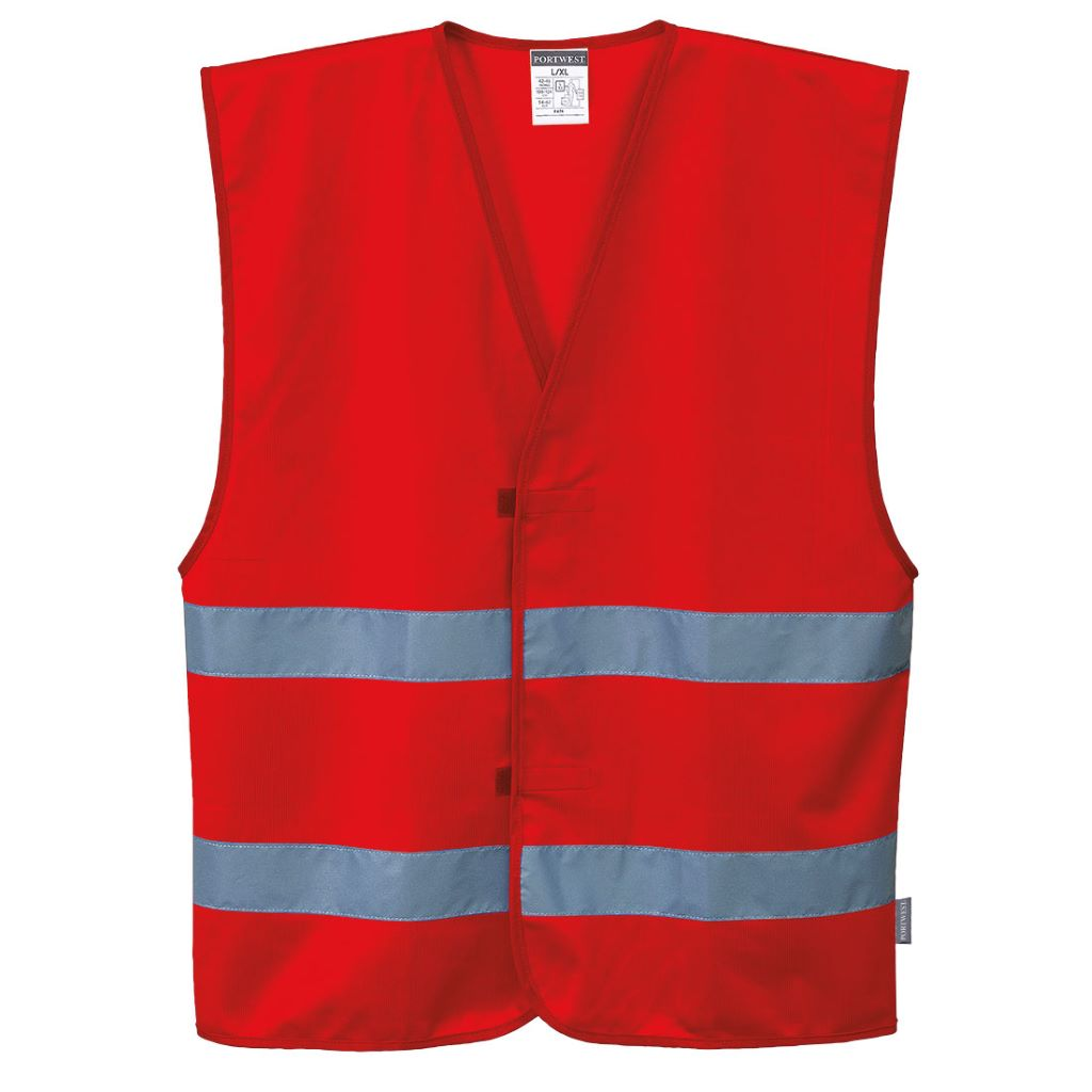 Iona 2 Band Vest F474 Red