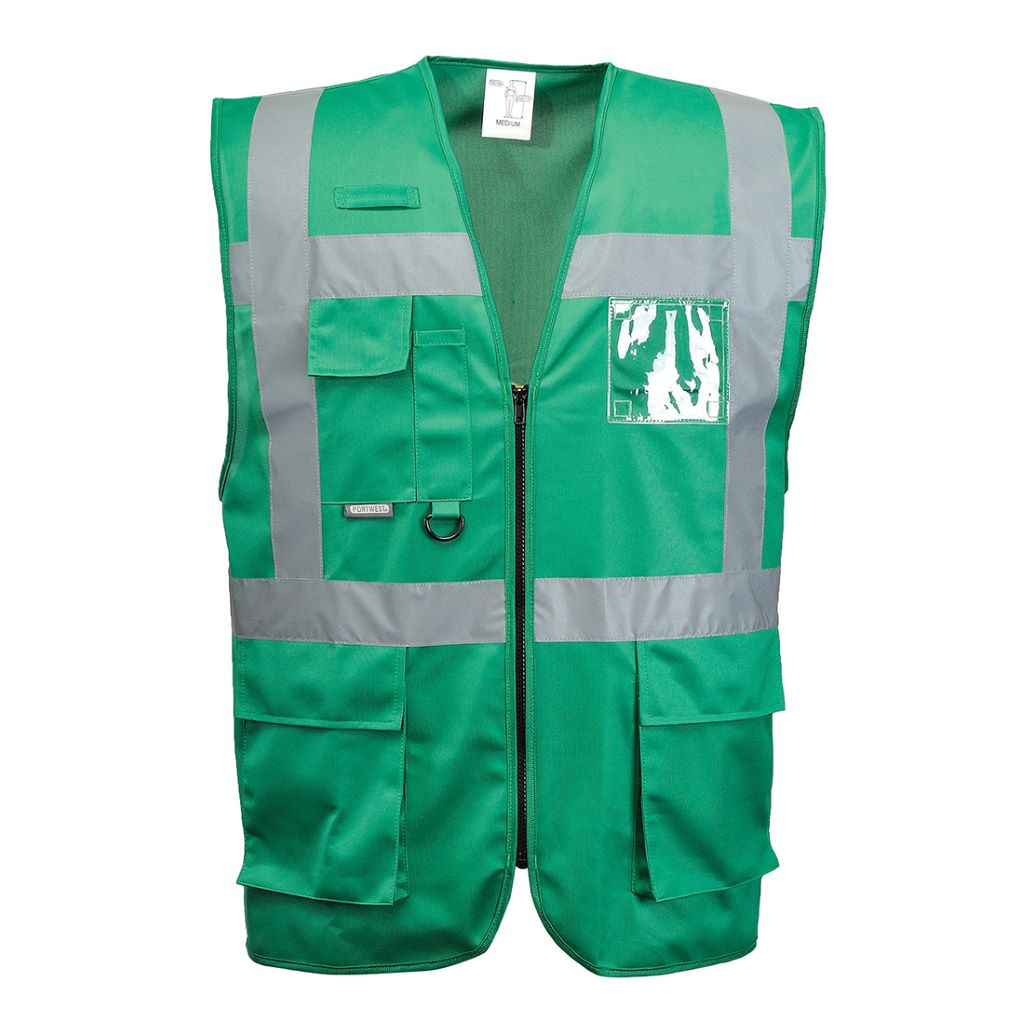 Iona Executive Vest F476 BottleGreen