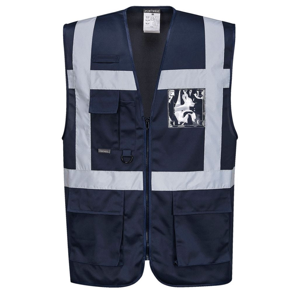 Iona Executive Vest F476 Navy